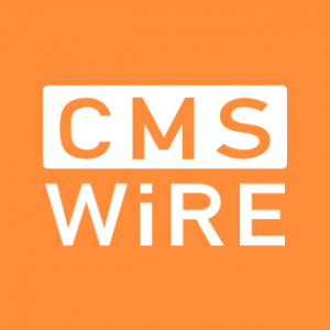 CMS wire work from home logo